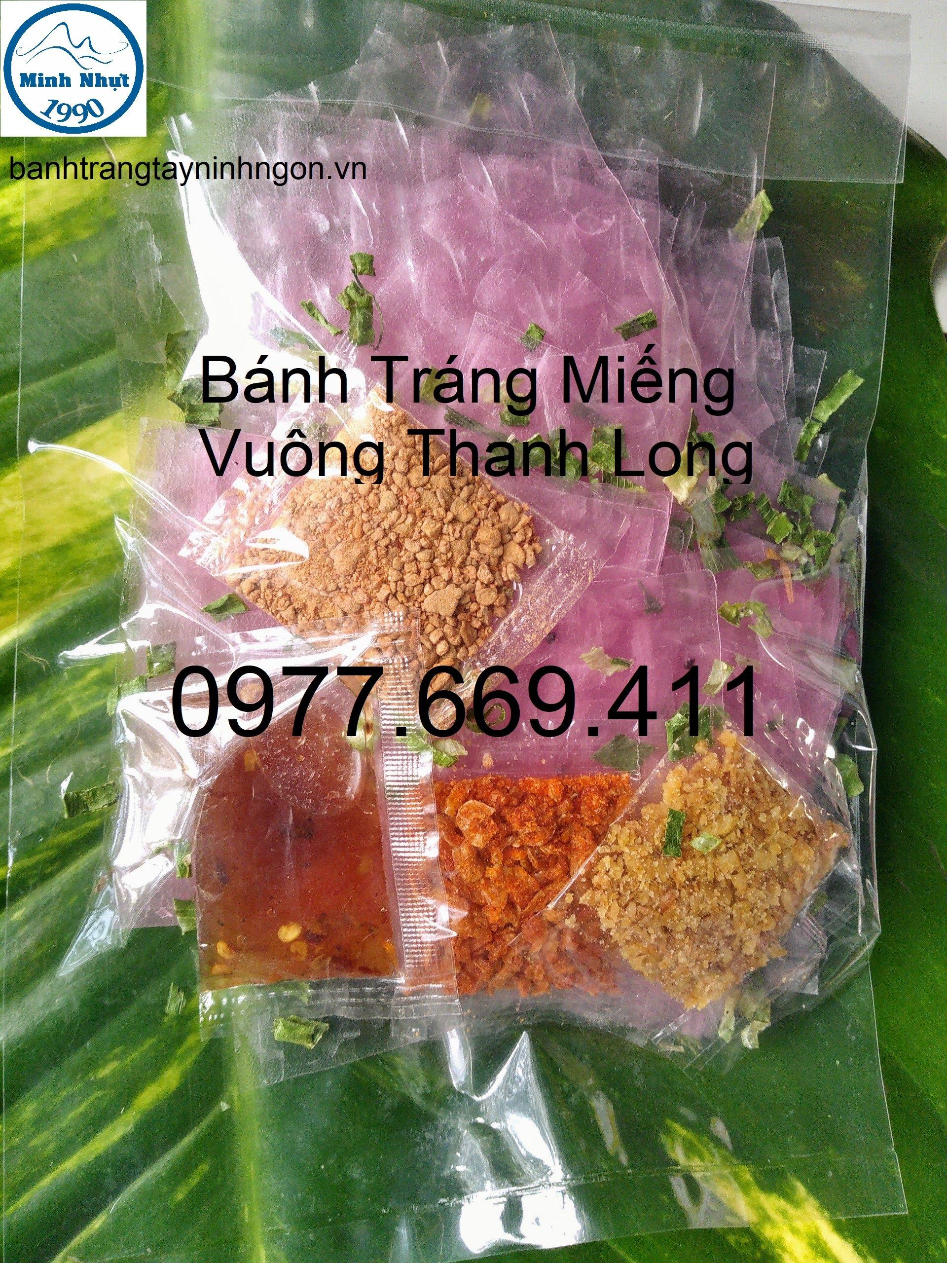Bánh Tráng Miếng Vuông Thanh Long